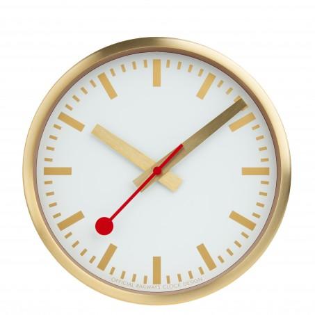 Mondaine - Wanduhr PURE A990.CLOCK.17SBG Uhr