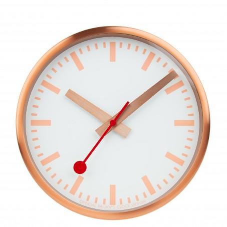 Mondaine - Wanduhr PURE  A990.CLOCK.17SBK Uhr