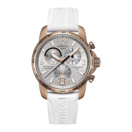 Certina - DS Podium Chronograph GMT Aluminium C001.639.97.037.01 Uhr