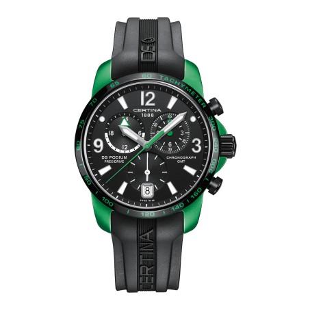 Certina - DS Podium Chronograph GMT Aluminium C001.639.97.057.03 Uhr