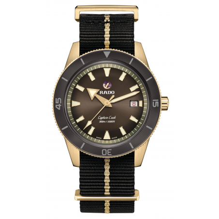 Rado - Captain Cook Automatic Bronze R32504307 Uhr