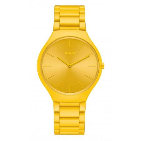 Rado - True Thinline Les Couleurs™ Le Corbusier Sunshine yellow 4320W R27093632 Uhr