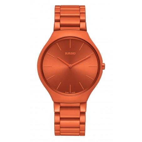 Rado - True Thinline Les Couleurs™ Le Corbusier Powerful orange 4320S  R27095652 Uhr