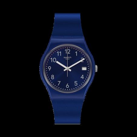 Swatch - Originals Gent SILVER IN BLUE GN416 Uhr