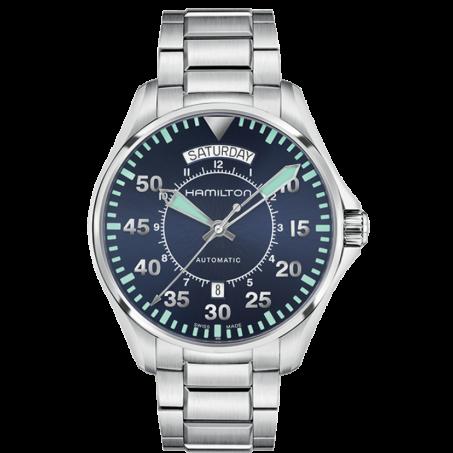 Hamilton - Khaki Aviation Pilot Day Date Auto H64615145 Uhr