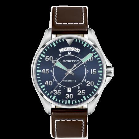 Hamilton - Khaki Aviation Pilot Day Date Auto H64615545 Uhr