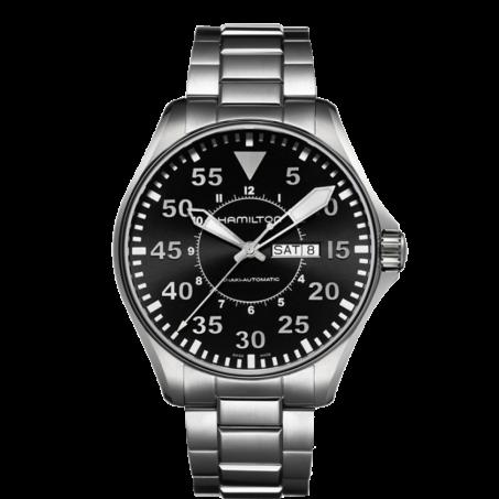 Hamilton - Khaki Aviation Pilot Day Date Auto H64715135 Uhr