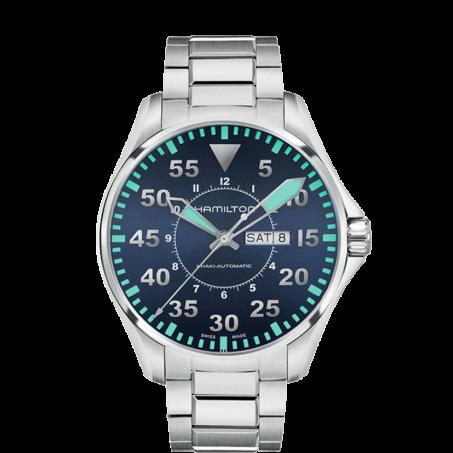 Hamilton - Khaki Aviation Pilot Day Date Auto H64715145 Uhr