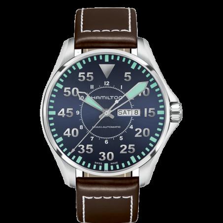 Hamilton - Khaki Aviation Pilot Day Date Auto H64715545 Uhr
