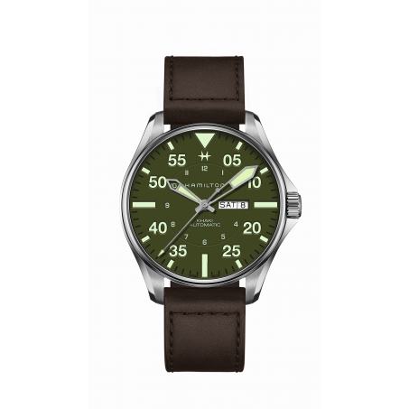 Hamilton - Khaki Aviation Pilot Day Date H64735561 Uhr