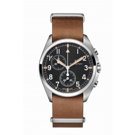 Hamilton - Khaki Aviation Pilot Pioneer Chrono Quartz H76522531 Uhr