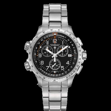 Hamilton - Khaki Aviation X-Wind GMT Chrono Quartz H77912135 Uhr