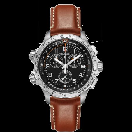 Hamilton - Khaki Aviation X-Wind GMT Chrono Quartz H77912535 Uhr