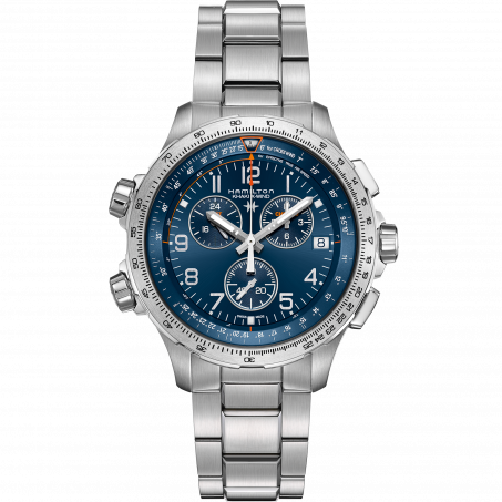 Hamilton - Khaki Aviation X-Wind GMT Chrono Quartz H77922141 Uhr