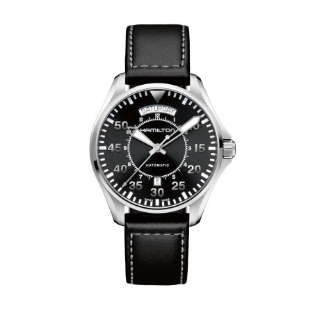 Hamilton - Khaki Aviation Pilot Day Date Auto H64615735 Uhr