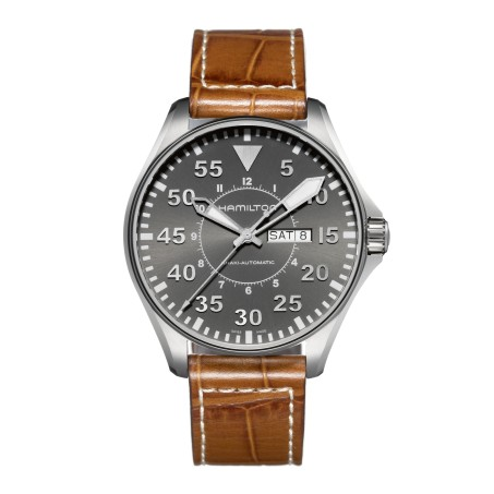 Hamilton - Khaki Aviation Pilot Day Date Auto H64715885 Uhr
