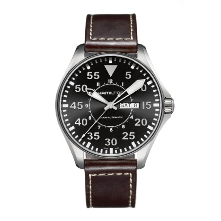 Hamilton - Khaki Aviation Pilot Day Date Auto H64715535 Uhr