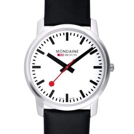 Mondaine - Simply Elegant 41mm  A638.30350.11SBB Uhr