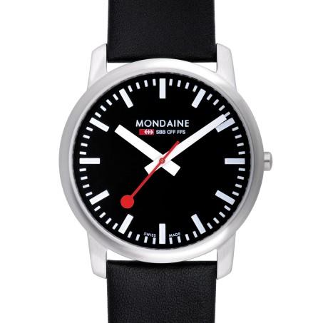 Mondaine - Simply Elegant 41mm  A638.30350.14SBB Uhr