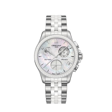 Certina - DS First Lady Chronograph Moon Phase C030.250.11.106.00 Uhr