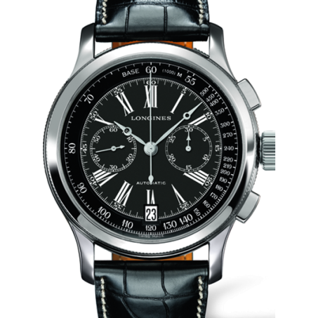 Longines - Longines Lindbergh's Atlantic Voyage Watch L2.730.4.58.0 Uhr