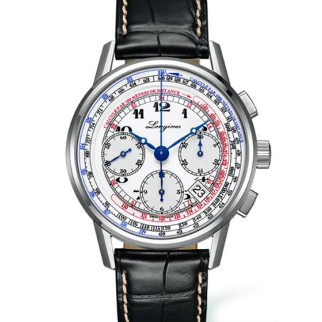 Longines - The Longines Tachymeter Chronograph L2.781.4.13.2 Uhr
