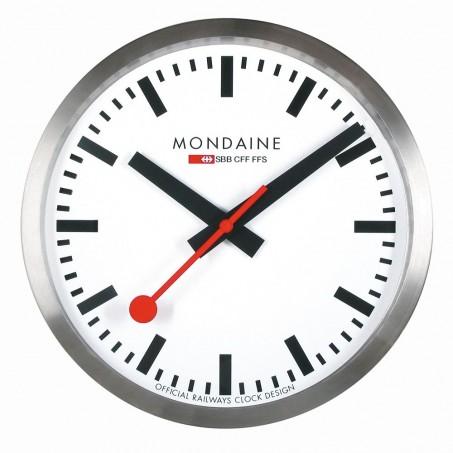 Mondaine - Wall Clock stop2go 25 cm MSM.25S10 Uhr