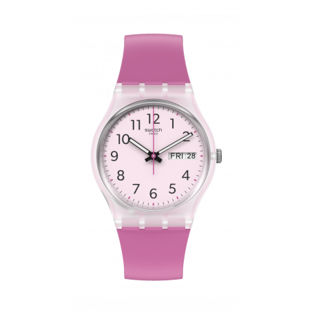 Swatch - Originals Gent RINSE REPEAT PINK GE724 Uhr