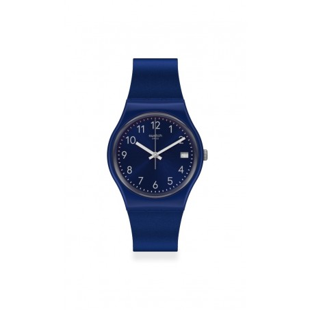 Swatch - Originals Gent SILVER IN BLUE GN416 Uhr