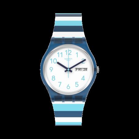 Swatch - Originals Gent STRIPED WAVES GN728 Uhr