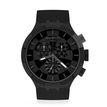 Swatch - Originals Big Bold Chrono CHECKPOINT BLACK SB02B400 Uhr