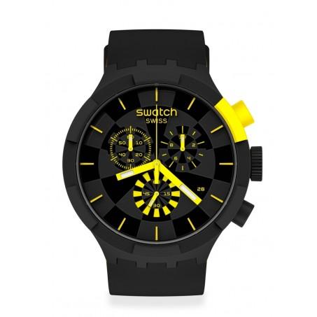 Swatch - Originals Big Bold Chrono CHECKPOINT YELLOW SB02B403 Uhr