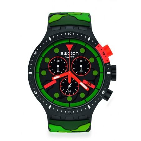 Swatch - Big Bold Chrono ESCAPEJUNGLE SB02B409 Uhr