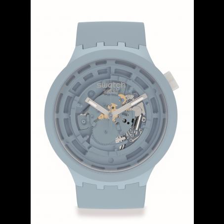 Swatch - Big Bold Next Bioceramic C-BLUE SB03N100 Uhr