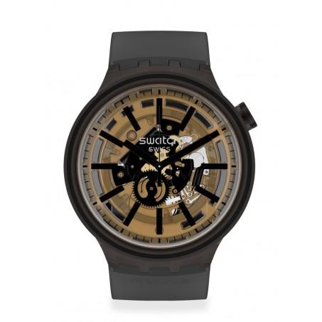 Swatch - Originals Big Bold DARK TASTE SO27B115 Uhr