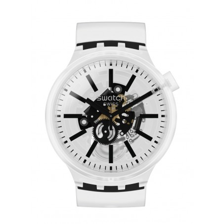 Swatch - Originals Big Bold BLACKINJELLY SO27E101 Uhr