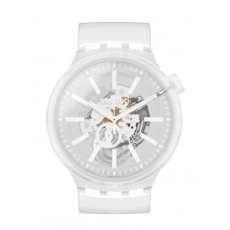 Swatch - Originals Big Bold WHITEINJELLY SO27E106 Uhr