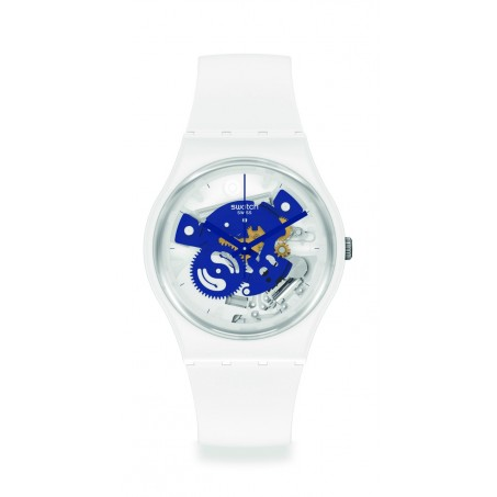 Swatch - Originals Gent TIME TO BLUE SMALL SO31W103 Uhr