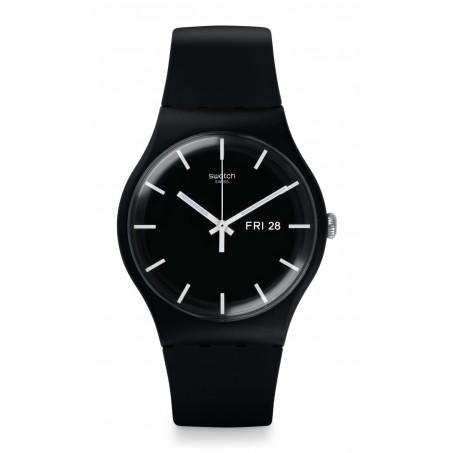 Swatch - Originals New Gent MONO BLACK SUOB720 Uhr