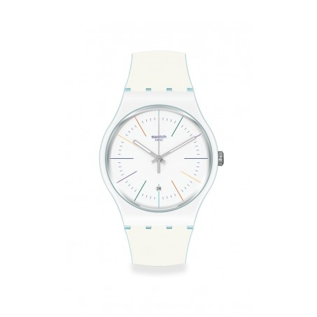 Swatch - Originals New Gent WHITE LAYERED SUOS404 Uhr