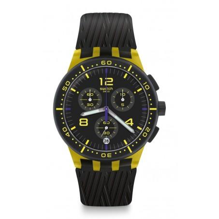Swatch - Originals Chrono Plastic YELLOW TIRE SUSJ403 Uhr