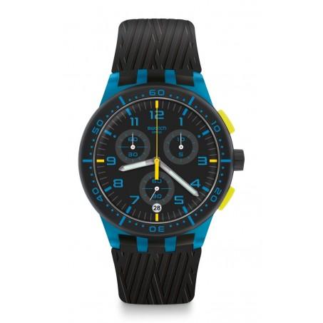 Swatch - Originals Chrono Plastic BLUE TIRE SUSS402 Uhr