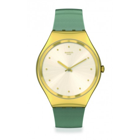 Swatch - Skin Irony GREEN MOIRÉ SYXG113 Uhr