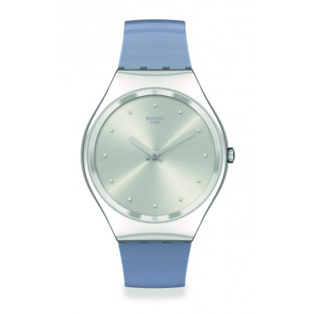 Swatch - Skin Irony BLUE MOIRÉ SYXS113 Uhr