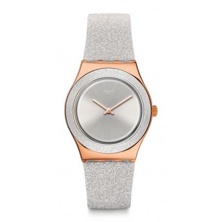 Swatch - Irony Medium GREY SPARKLE YLG145 Uhr