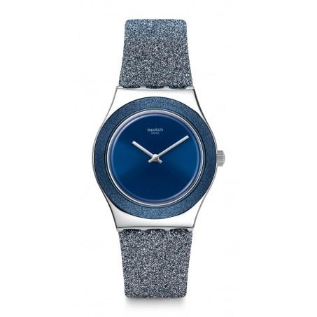 Swatch - Irony Medium BLUE SPARKLE YLS221 Uhr