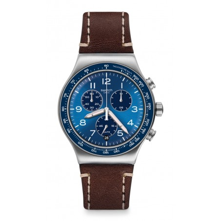Swatch - Irony New Chrono CASUAL BLUE YVS466 Uhr