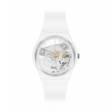 Swatch - Originals Gent SPOT TIME WHITE SO31W102 Uhr