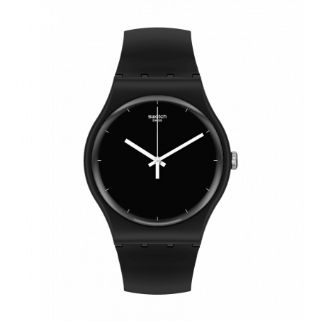 Swatch - Originals New Gent THINK TIME BLACK SO32B106 Uhr