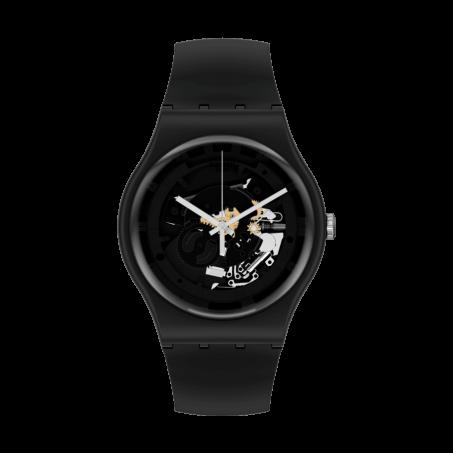 Swatch - Originals New Gent SPOT TIME BLACK SO32B108 Uhr